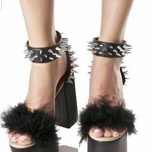 Discontinued Dolls Kill spiked heels